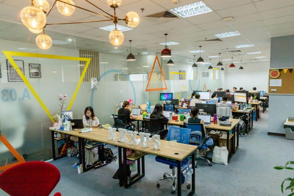 Không gian văn phòng sang trọng và lịch sự