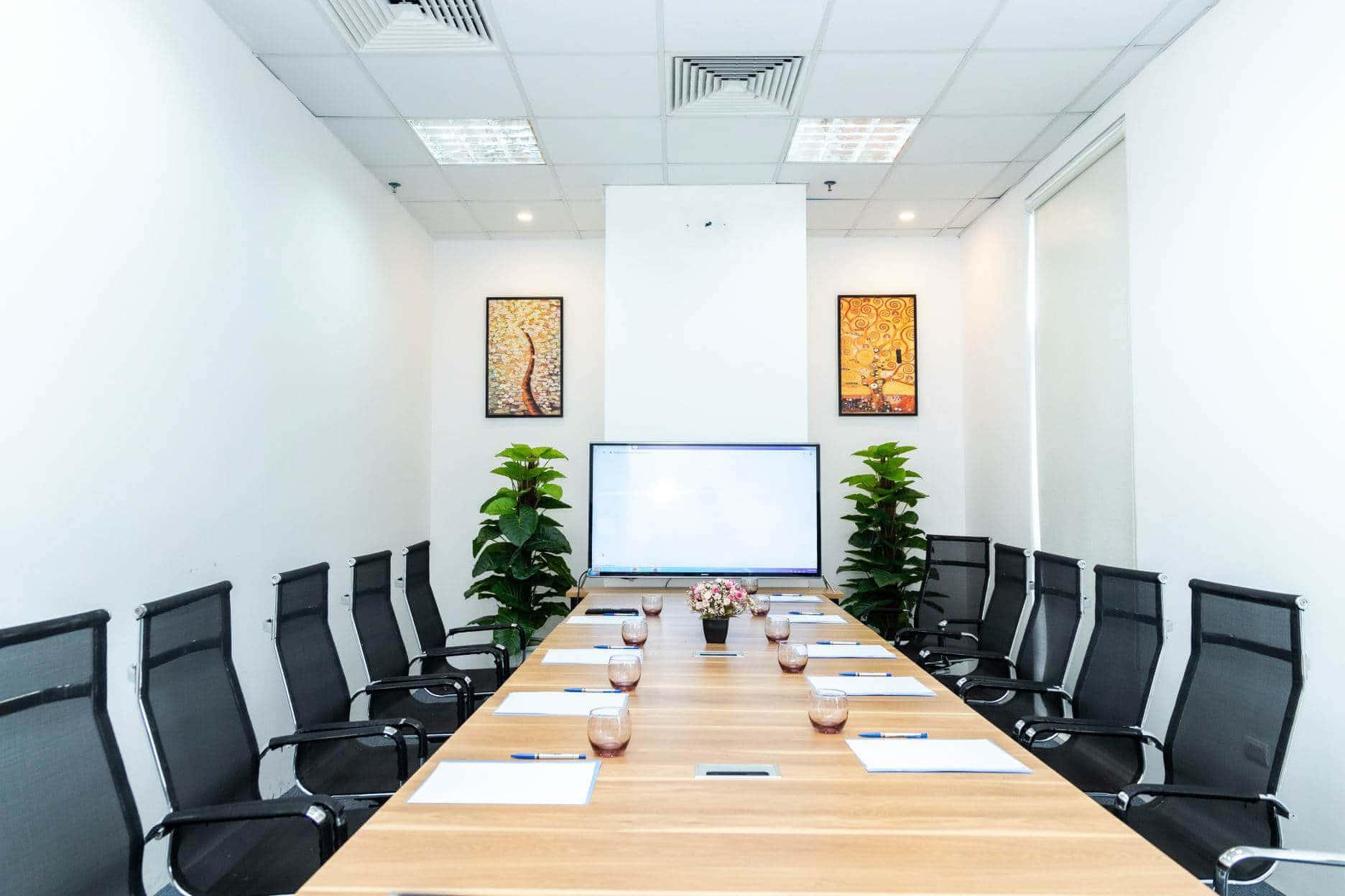 Phòng họp sang trọng