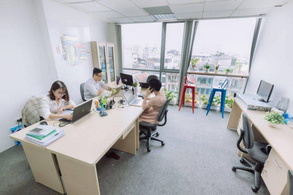 Văn phòng có view